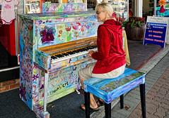 Invitation to Play (PRS Images) Tags: music britishcolumbia piano vancouverisland campbellriver gladys colorefex
