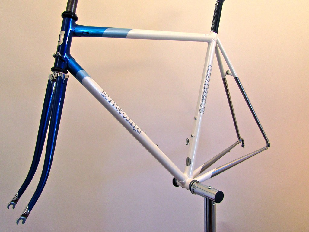 Pic of road bike I sent to Bicycling Magazine for review