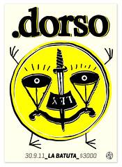DORSO en La Batuta !. Toms Dintrans (Toms Dintrans) Tags: chile plaza santiago music white black records