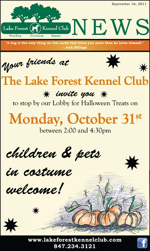 Lake Forest Kennel Club Newsletter