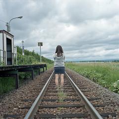 long journey. (Momota.M) Tags: 120 6x6 film japan rolleiflex friend portra400vc momotam