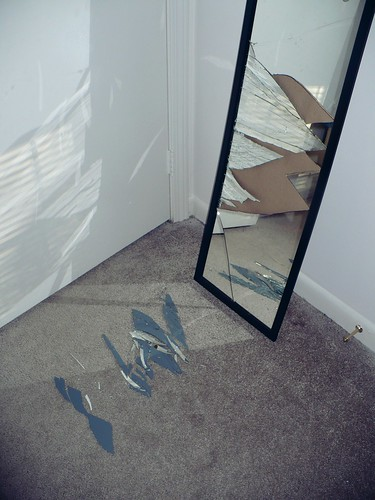 Mirror Mirror Shattered On The Floor You And Me Kid