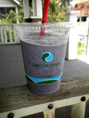 Bluebery smoothie