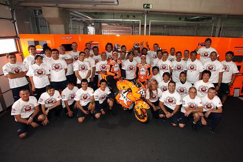 100 Victorias Repsol Honda Team