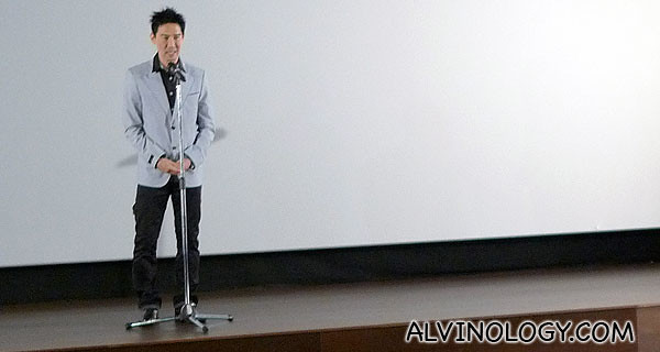 Edmund Chen greeting everyone