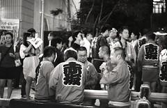 Post-matsuri libations, Akasaka matsuri (View Master 187) Tags: camera japan start tokyo soviet rodinal russian matsuri akasaka fujineopan400 ctapt