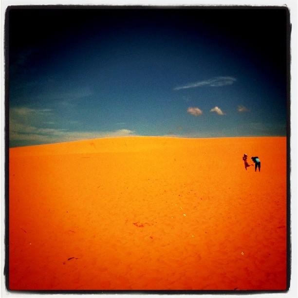 Sand Dunes, Vietnam