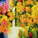 """Rainy Geraniums"" Jean K. Gill"
