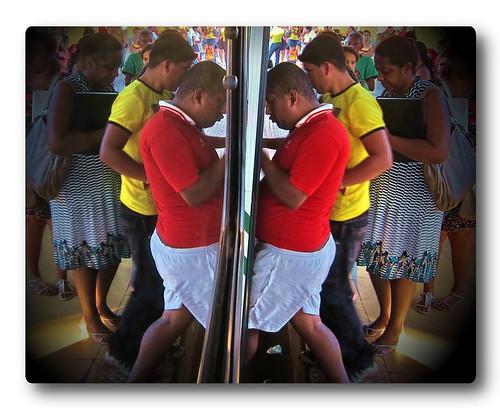 """Rio Branco Bus Reflection #4 - """"Oops!"""""""