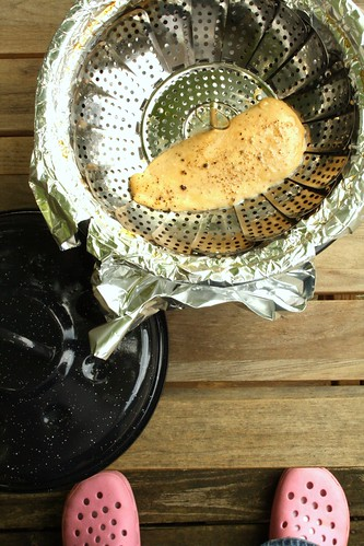 Homemade Stovetop Smoker Attempt #1