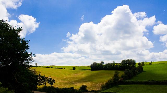 C'est beau, hein? C'est l'Aveyron.