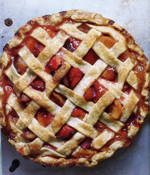 ba stone fruit lattice pie