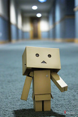 Danbo at the Lobby (Anthony Leow) Tags: anime toy toys photography japanese dashboard yotsuba danbo revoltech