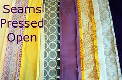 Seams Pressed Open -- back