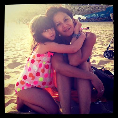 Mãe e irmã