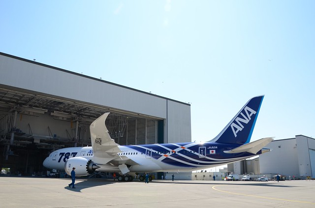All Nippon Airways Boeing 787 Dreamliner JA801A ZA101