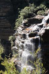 Wentworth Waterfalls (Baba Blue) Tags: water landscape waterfall australia bluemountains wentworth newsouthwales katoomba eos600d canonrebelt3i