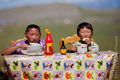 The art of picnic in the steppe (Pvince) Tags: sport festival asia culture mongolia tradition mng khvsgl nadaam tsagaannuur northeastasia