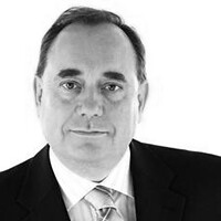 From http://www.flickr.com/photos/49069586@N06/6044902947/: Alex_Salmond, Scotland's First Minister.  Down with Corporation Tax.