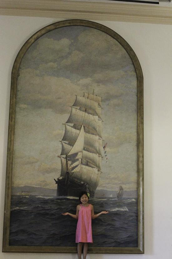 Mystic Anna painting
