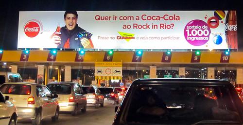 2011 Rock in Rio 1000 free tickets Promo Coca-Cola Rio de Janeiro by roitberg