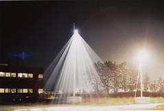 Lys (martinkozak) Tags: longexposure light beach bulb night 35mm denmark ae1 nat buttcrack canonae1 danmark fredericia kodakporta160nc canoscan8800f