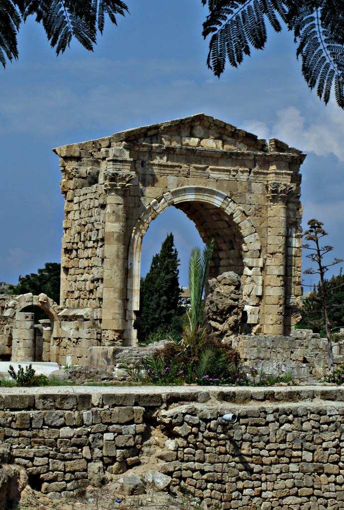 Roman Triumphal Arch, Ancient City of Tyre, Lebanon