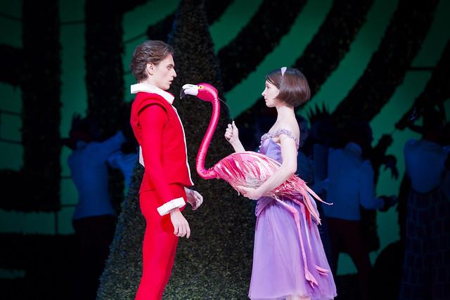 Lauren Cuthbertson as Alice, Sergei Polunin as Jack in Alice's Adventures in Wonderland  © Johan Persson/ROH 2011