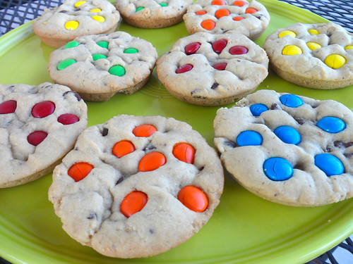 M&M cookies*