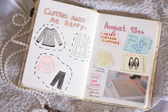 228/365 drawing clothes (Honey Pie!) Tags: cute pretty notes books things days clothes honey 365 365days 365daysproject 365dias 365daysofhoney