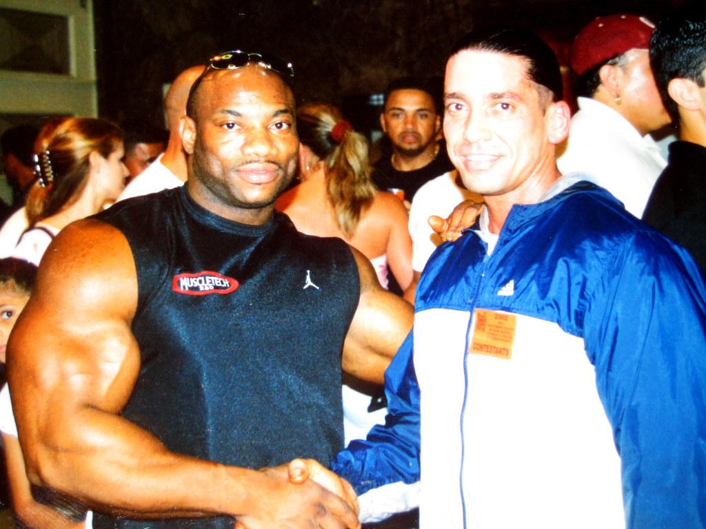 Roger Hernandez and Dexter Jackson