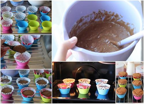 Bánh muffin chocolate coffee 3