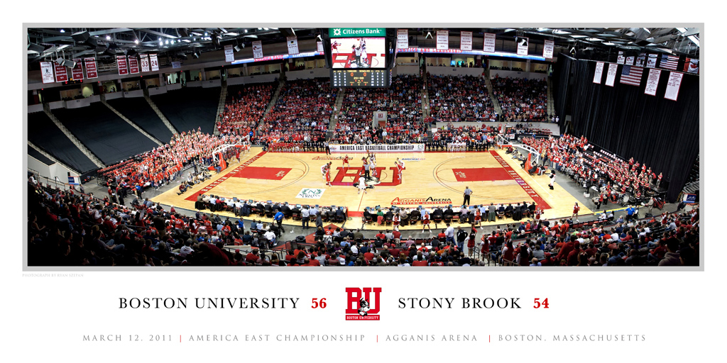 America East Basketball Champsionship Panoramic