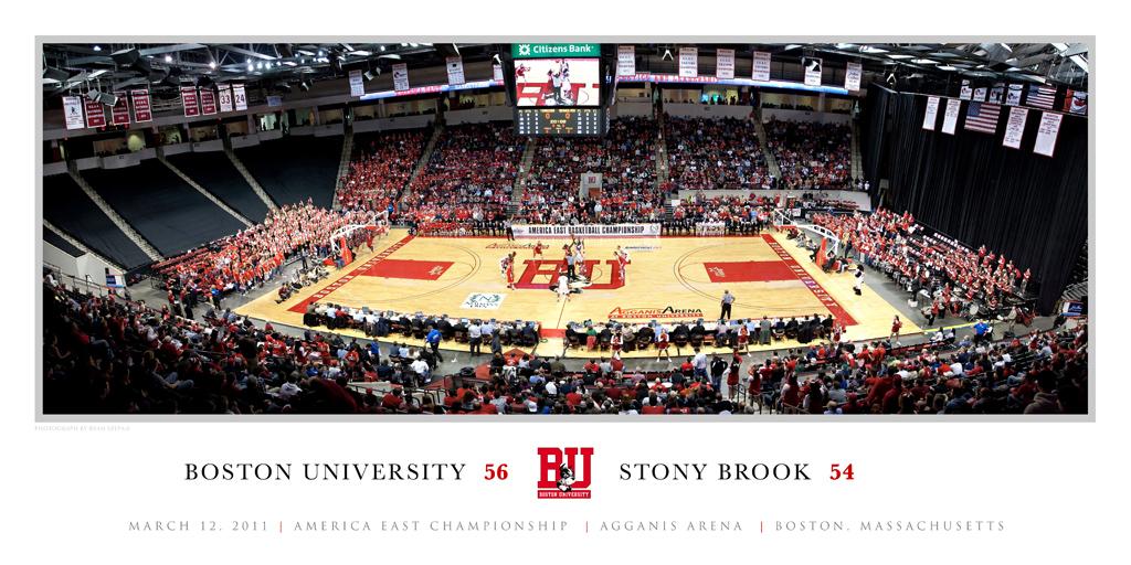 America East Basketball Champsionship Panoramic