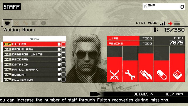 Metal Gear Solid: Peace Walker HD - Miller