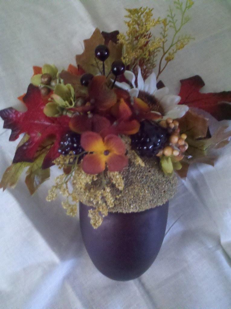fall wedding/giant acorn by Cj Davis