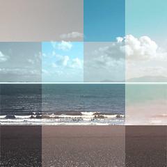 Seascape contemporary art 1 (Michael Murray Bespoke Art) Tags: ocean sea sky art water scotland contemporary framed blocks sescape