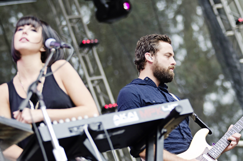 Phantogram at Outside Lands Day 1