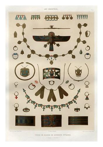 020-Seleccion de joyas de diversas epocas-Histoire de l'art égyptien 1878- Achille Constant Théodore Émile