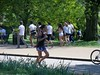 100_3215 (Waterford_Man) Tags: people paths rollerbladers rollerskaters rollerskating rollerblading hydepark serpentineroad london girls candids trees