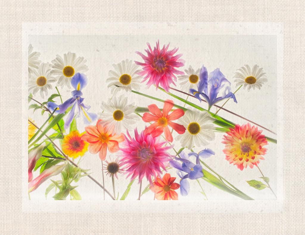 Floral Tapestry---Right Panel © Harold davis