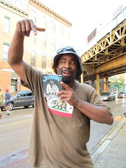 The new Sharkula documentary DVD (fotoflow / Oscar Arriola) Tags: chicago il illinois rapper mc thig sharkula brian hiphop hip hop midwest us usa united states america american dvd movie documentary wicker park damen blue line cta station transit authority film