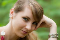 Karin (Norbert Krlik) Tags: portrait girl bokeh outdoor karin canoneos5d canonef300mmf4lisusm