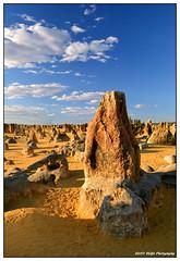 pinn1 (stüfä) Tags: blue sky west desert australia pinnacles artistoftheyearlevel3 artistoftheyearlevel4