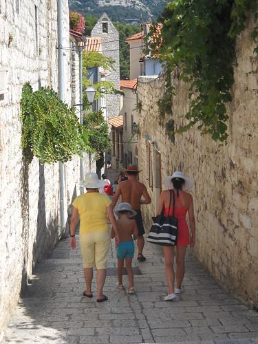 A Slow Stroll, Rab Island, Croatia