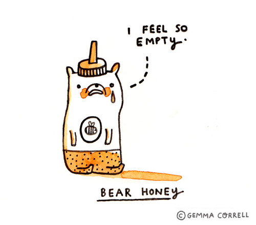 creatures of the kitchen - bear honey