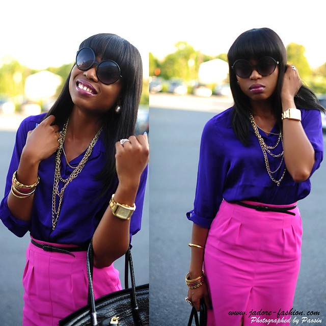 Pink & Purple2 by jadore-fashion.com