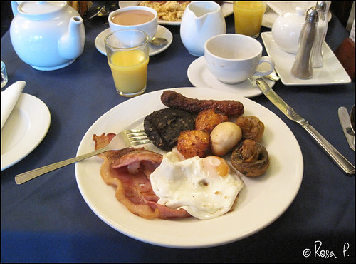 UK - Cheshire - British Breakfast