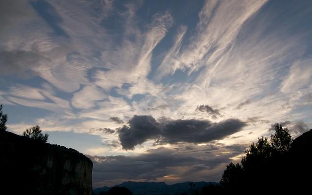 Guhyaloka skies 1