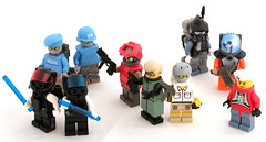 Cyberpunk Military (Mechanekton) Tags: lego space military scifi minifig minifigs cyberpunk